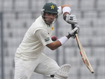 Misbah-ul-Haq's half-century helped Pakistan take the lead