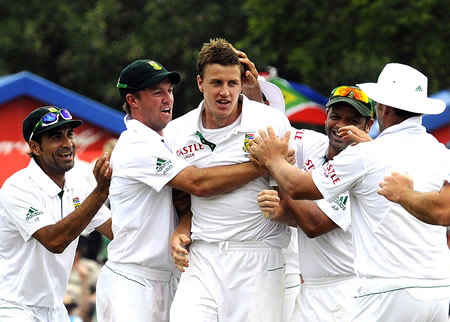 Morne Morkel removed Thilan Samaraweera to boost his confidence