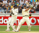 Ricky Ponting cuts behind point