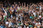 A large crowd turned up for day one of the Boxing Day Test in Melbourne