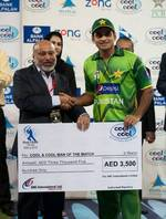 Mohammad Hafeez was the Man of the Match