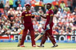Russell and Ramdin lifted the West Indies to 310