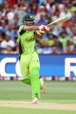 Ahmed Shahzad heaves one for four