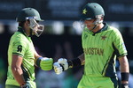 Misbah and Umar Akmal had a 50-run partnership